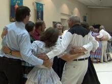 State square dancing competition kicking up some fun