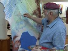 Airborne ranger finds second career in art