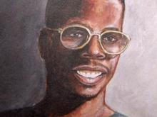 Self-taught painter makes name for himself in Durham