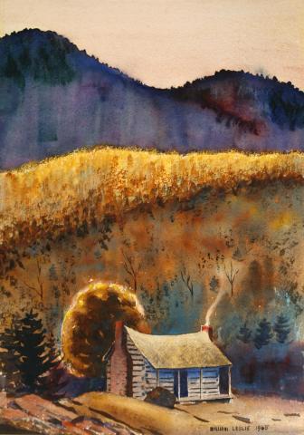 Jonas Ridge by William A. Leslie, Jr.