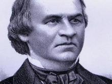 Future president was born in Raleigh in 1808