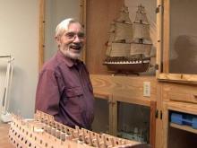 Rocky Mount man builds model boats
