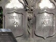 Best friends have identical gravestones