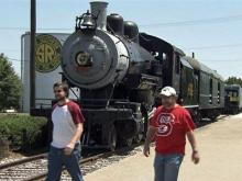The North Carolina Transportation Museum train ride