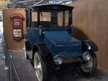The North Carolina Transportation Museum showcases the state's transportation history from trains to cars.