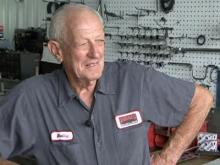 75-year-old still pushing the pedal to the metal