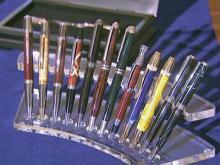Wake County boy starts handmade pen business