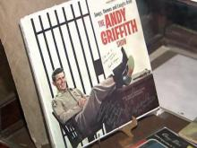 Fan shows admiration for Andy Griffith