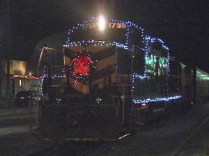 Every Christmas, thousands of passengers from North Carolina and other states take the trip with Santa aboard the Polar Express in Bryson City.