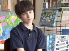 Seventh-grader creates board game