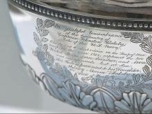 Tea service was gift for girl who lost father