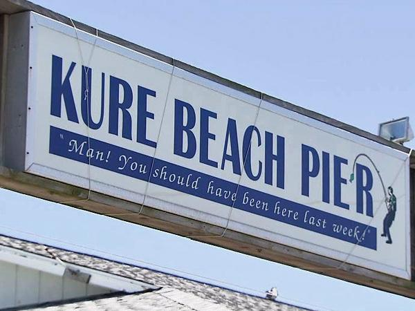 Kure Beach Pier has long history :: WRAL com