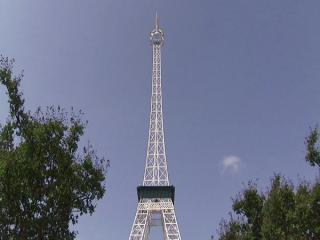 The Eiffel Tower of Fayetteville was built in the early 1970s for a shopping center named Bordeaux. For the land was once a vineyard that perhaps produced Merlot.