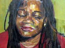 Durham artist showcases self portraits