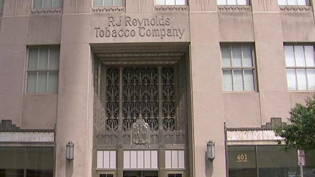 The R.J. Reynolds Tobacco building has stood at 401 North Main St. in Winston-Salem for more than 80 years.