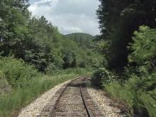 Visitors get mountain view on Bryson City train