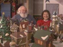 Four Oaks couple has miniature village with giant Christmas spirit