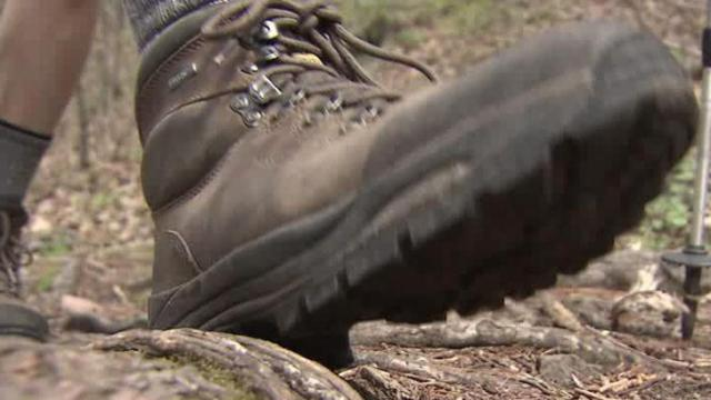 Jeff Simpson, of Raleigh, is hiking the Appalachian Trail to raise money for cancer research after his 17-year-old daughter died from leukemia.