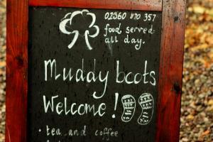 Pub Sign near Loch Lomond courtesy Bill Leslie