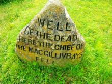 Well of the Dead at Culloden
