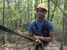 Zip-line tour offers wild ride in Fayettevillex