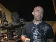 Goldsboro man collects creepy movie memorabilia