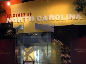 The Story of North Carolina is the main exhibition at the North Carolina Museum of History.