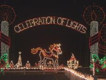 Roy Johnson started the Meadow Lights Christmas display more than 40 years ago.