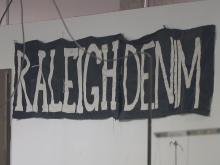 It was a startup company that almost no one had heard of, but now it's a major player in the fashion world. That's not the only story at Raleigh Denim Workshop - 78-year-old Chris Ellsberg has lived a life woven with determination and courage.