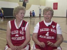 Grannies got game on senior basketball team