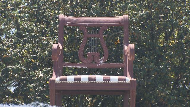 Thomasville Chair Is Fitting Landmark :: WRAL.com