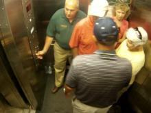 Elevator eases climb at Chimney Rock
