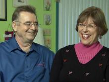 J.S. Fletcher and Kathy Newbern