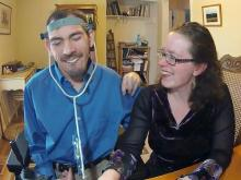 Inter-ability couple connects through writing