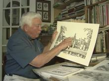Artist has eye for detail, passion for places