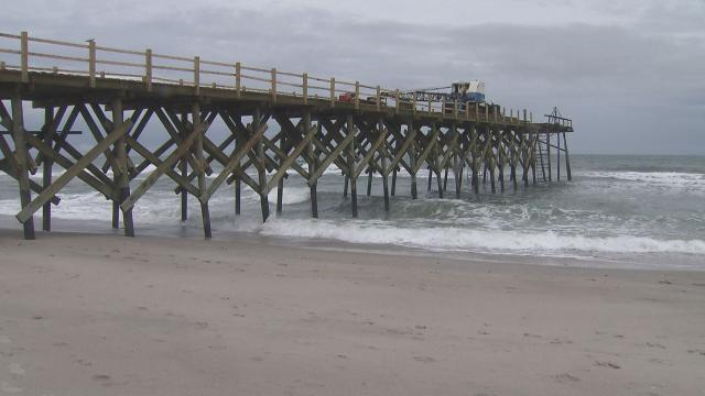 Historic Crystal Pier At Wrightsville Beach Undergoes Renovation Wral