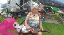 NC's bluegrass queen strums dobro