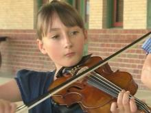 Charlotte girl is fiddle phenom