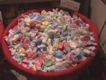 The Candy Factory in Lexington has become a landmark, selling old-fashioned candy out of a converted hardware store with a creaky floor.
