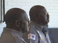 Albert and Allen Jones are identical twins with identical jobs. The brothers work as emergency medical technicians in Goldsboro.