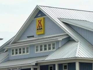 "The Camp Hatteras KOA is the second in the nation to be designated a ""resort."""