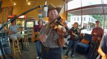 IMAGES: Bluegrass is served up fresh every Thursday at Zuma Coffee House