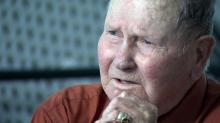 IMAGES: WWII POW recalls struggle to survive