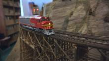 IMAGES: Wilson hobby shop has 467-mile model train layout