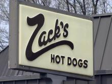 Zack's hot dogs