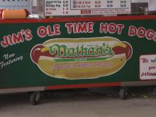 Jim's hot dogs