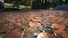 IMAGES: Penny car has lots of cents