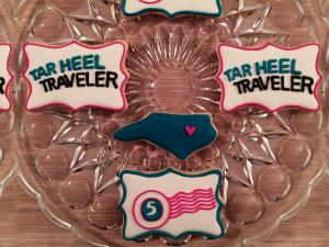 Two great friends from Raleigh made a batch of sugar cookies and decorated them with colorful designs. The cookies proved so popular, they decided to start a company. Southern Sugar Bakery ships goodies all over the world.