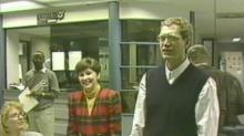 David Letterman at WRAL in 1983