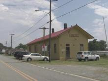 Train depot in Rural Hall